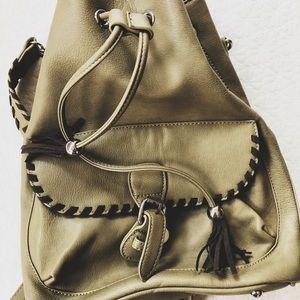 Olive Green Backpack // Charming Charlie